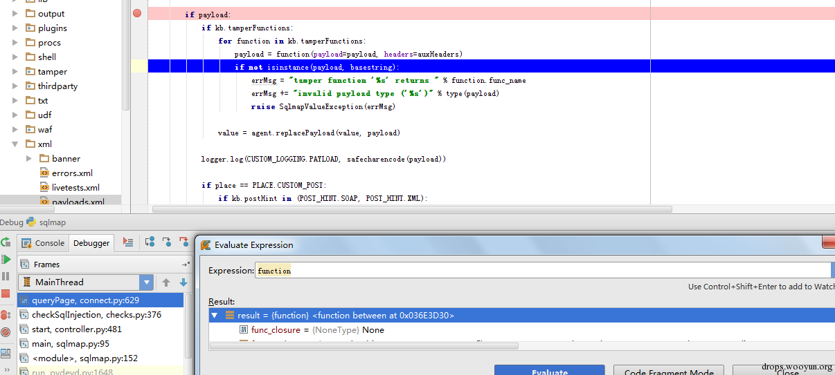 sqlmap 进阶- SQL 注入